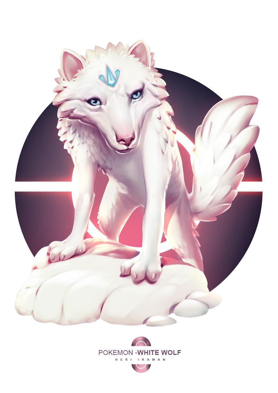 Heri irawan pokemon whitewolf irawan