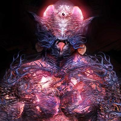 Amro attia demon king torso 03