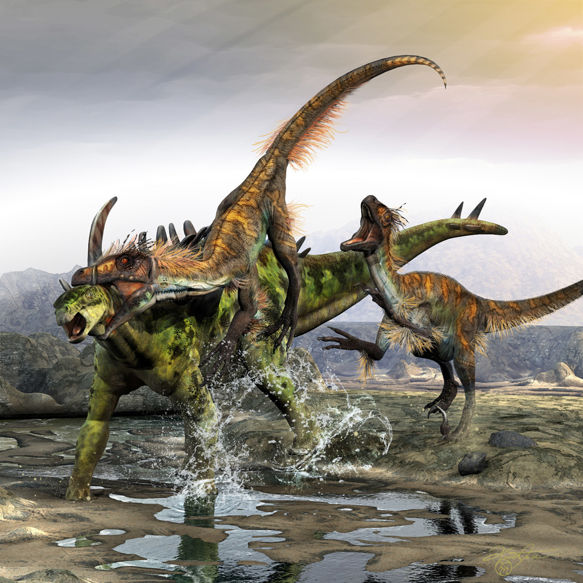 Kurt miller through the armor of gigantspinosaurus