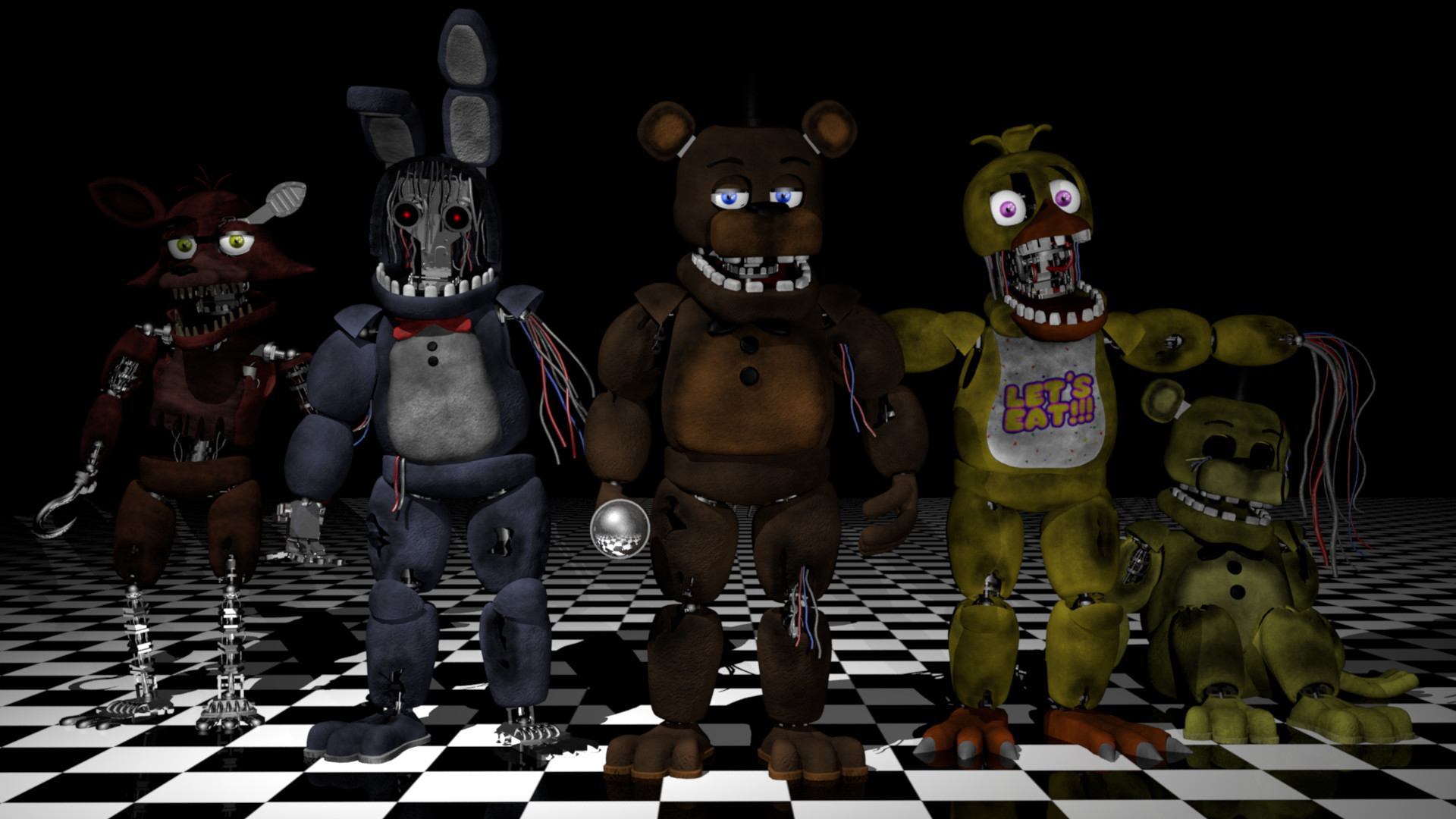 Thomas Honeybell - Five Nights at Freddy's 2 Fan-made
