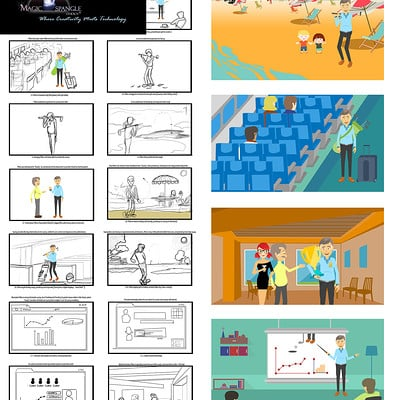 Vibhas virwani storyboard and screenshots swing