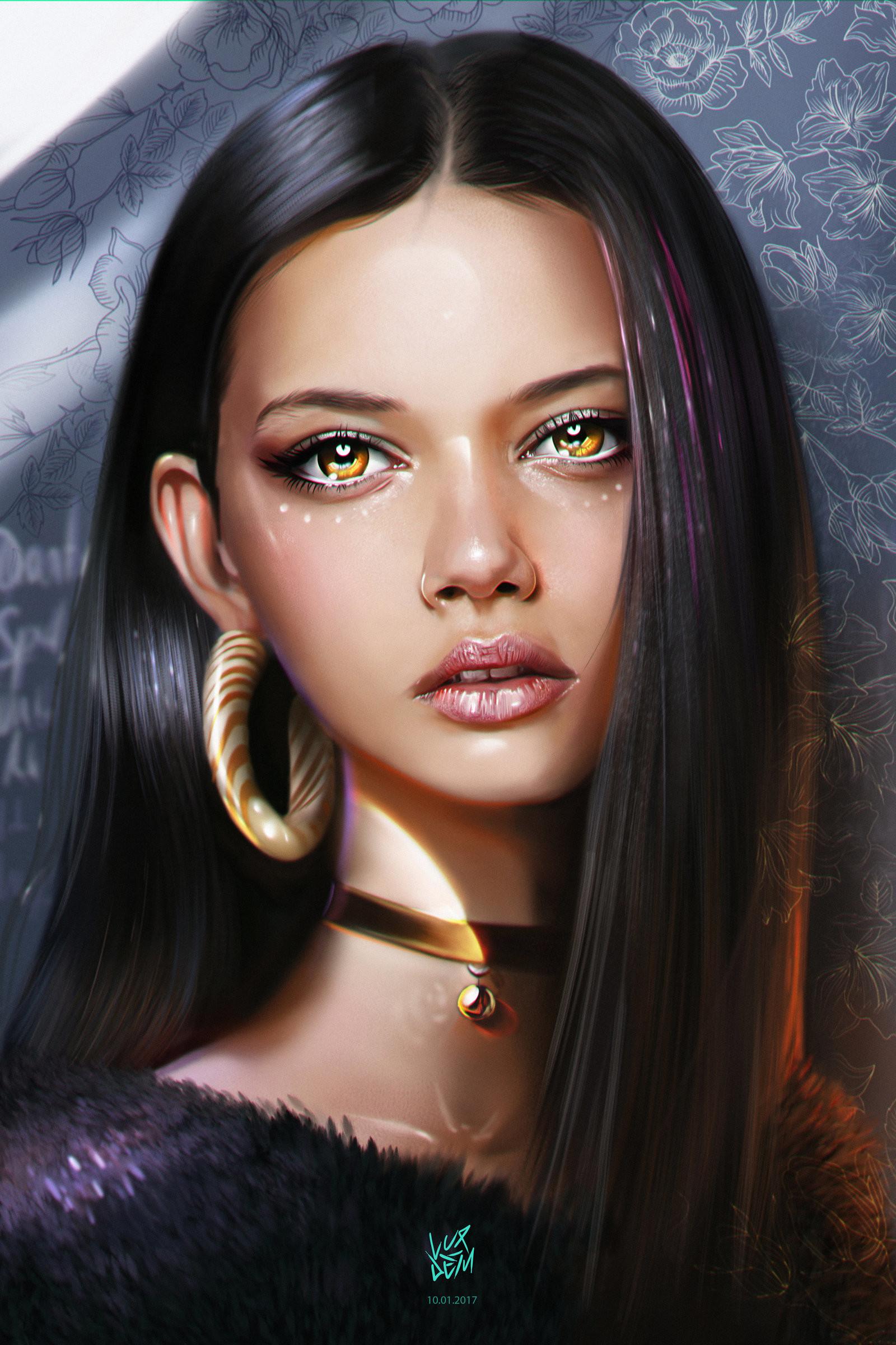 Yasar vurdem marina nery portrait by vurdem dauwp1q
