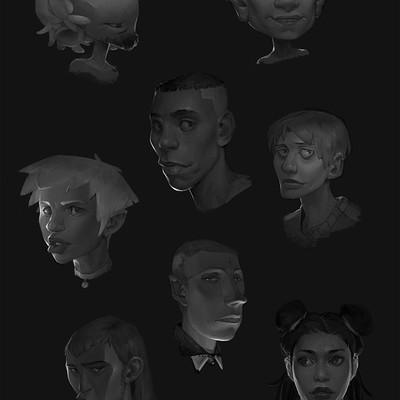 Ruschkala bingbong 10 01 17 facesketching