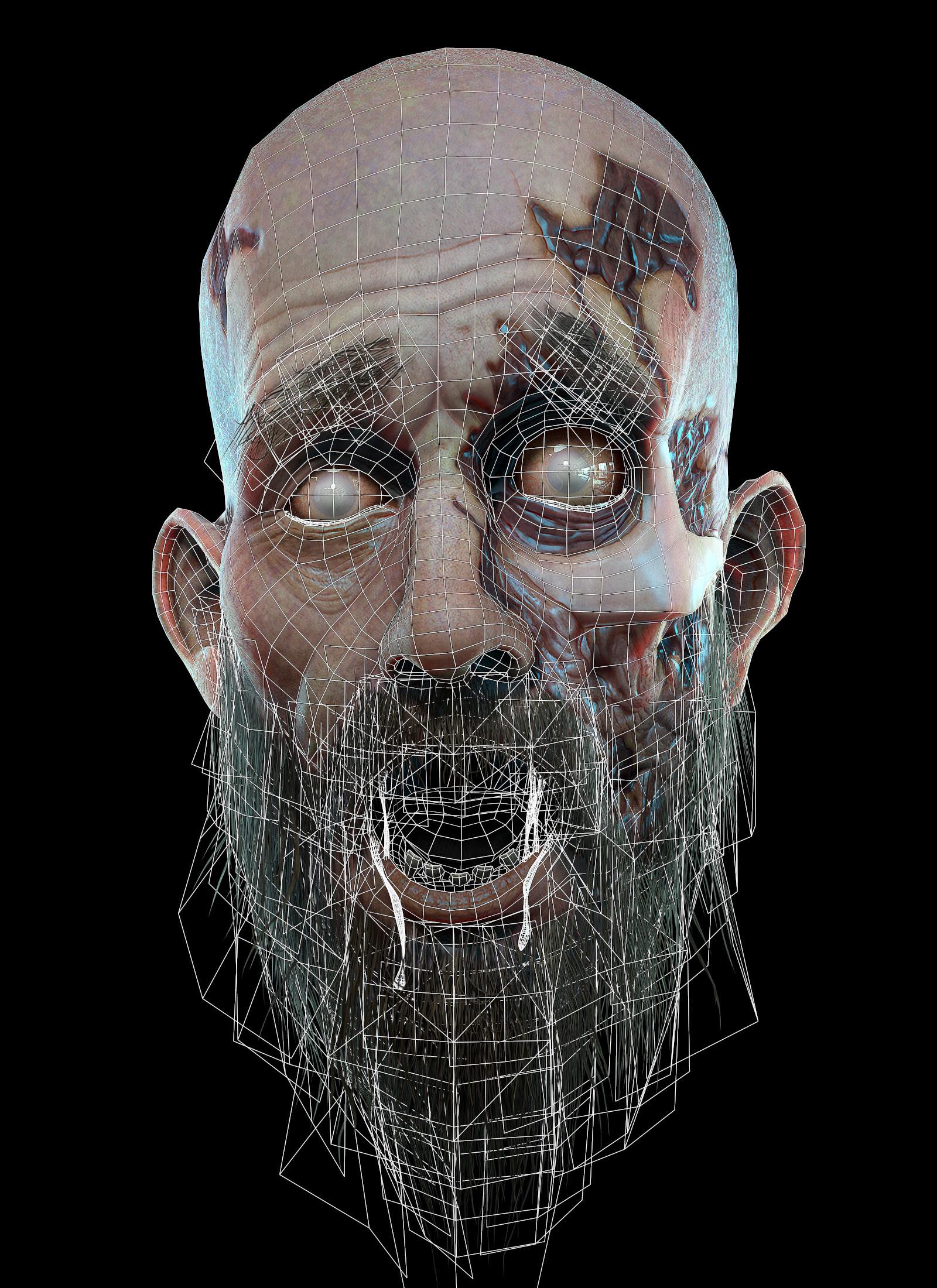 Eric blondin schell bearded zombie01 wire