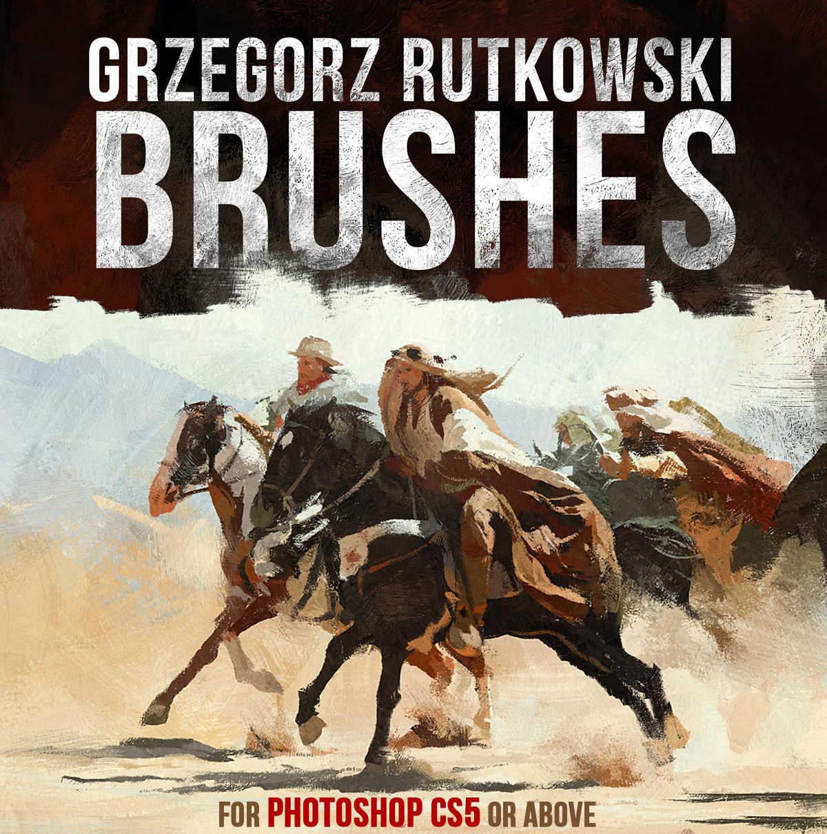 ArtStation - Brushes, Greg Rutkowski