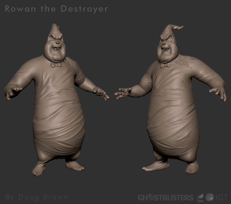 Ghostbusters 2016 | Rowan the Destroyer