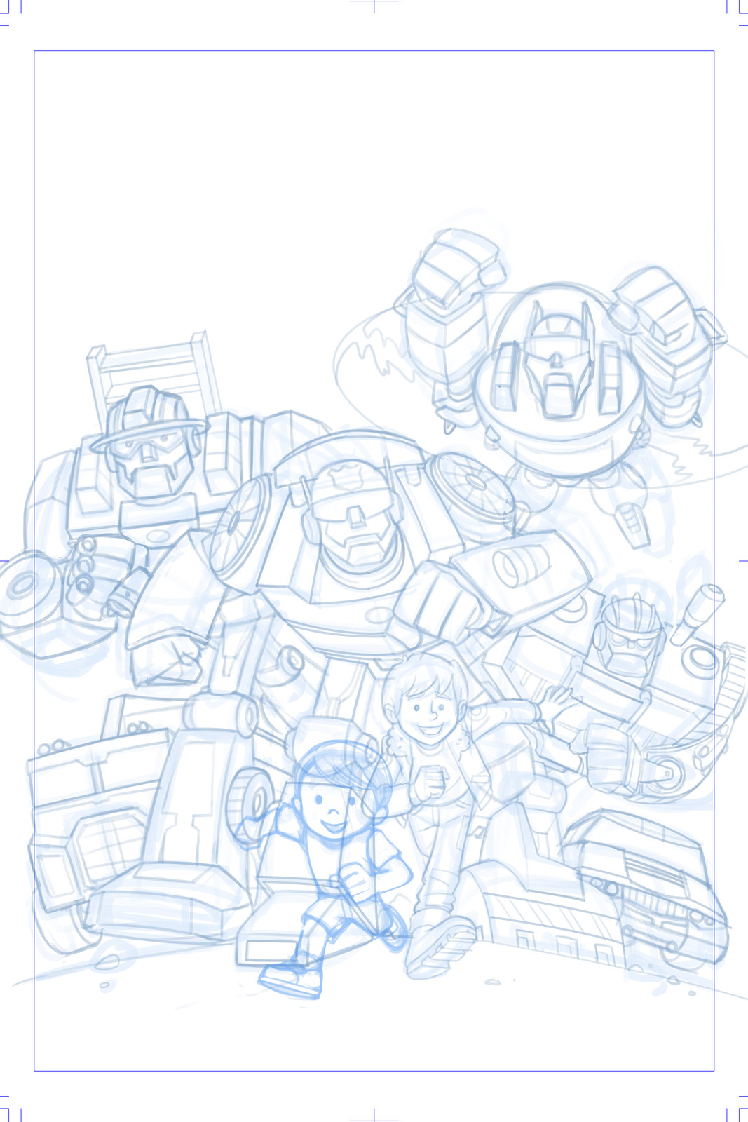rough pencils (digital)