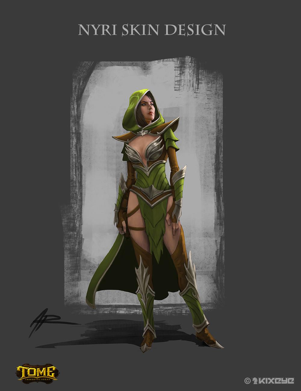 Nyri Ranger Skin Concept