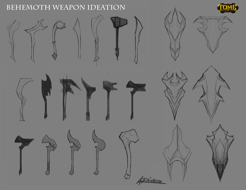 Anthony rivero behemoth weapon sheet