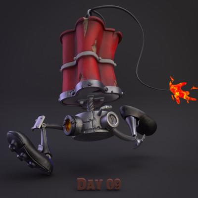 Chuks echezie okoro robo leg by artur mukhametov concept