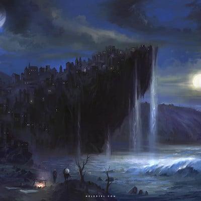 Nele diel cliff city