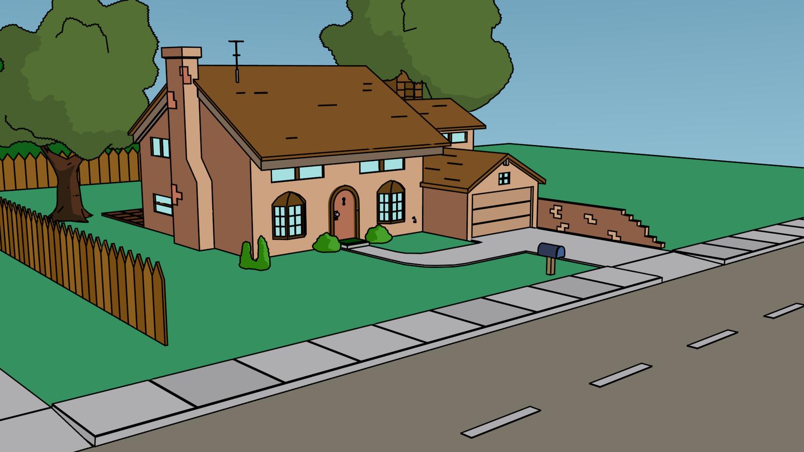 WIP 02: Das Grundstück wird ausgebaut.