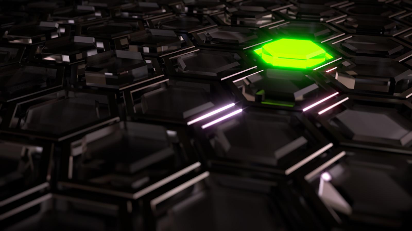 Glowing Hexa