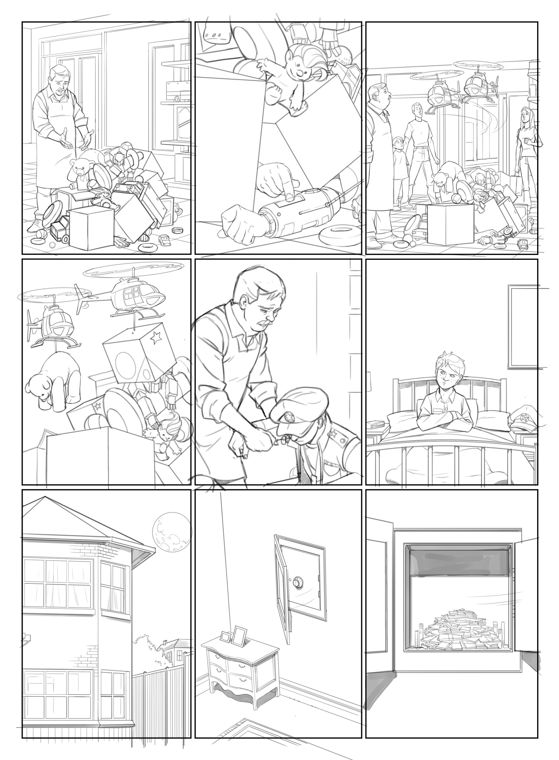 "General Jumbo - Page 04 : ""pencils"""