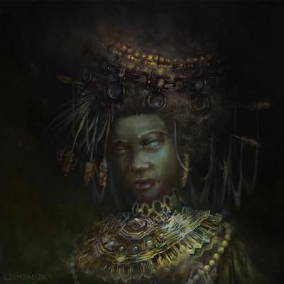 Leonardo de moura queen of sheba medium