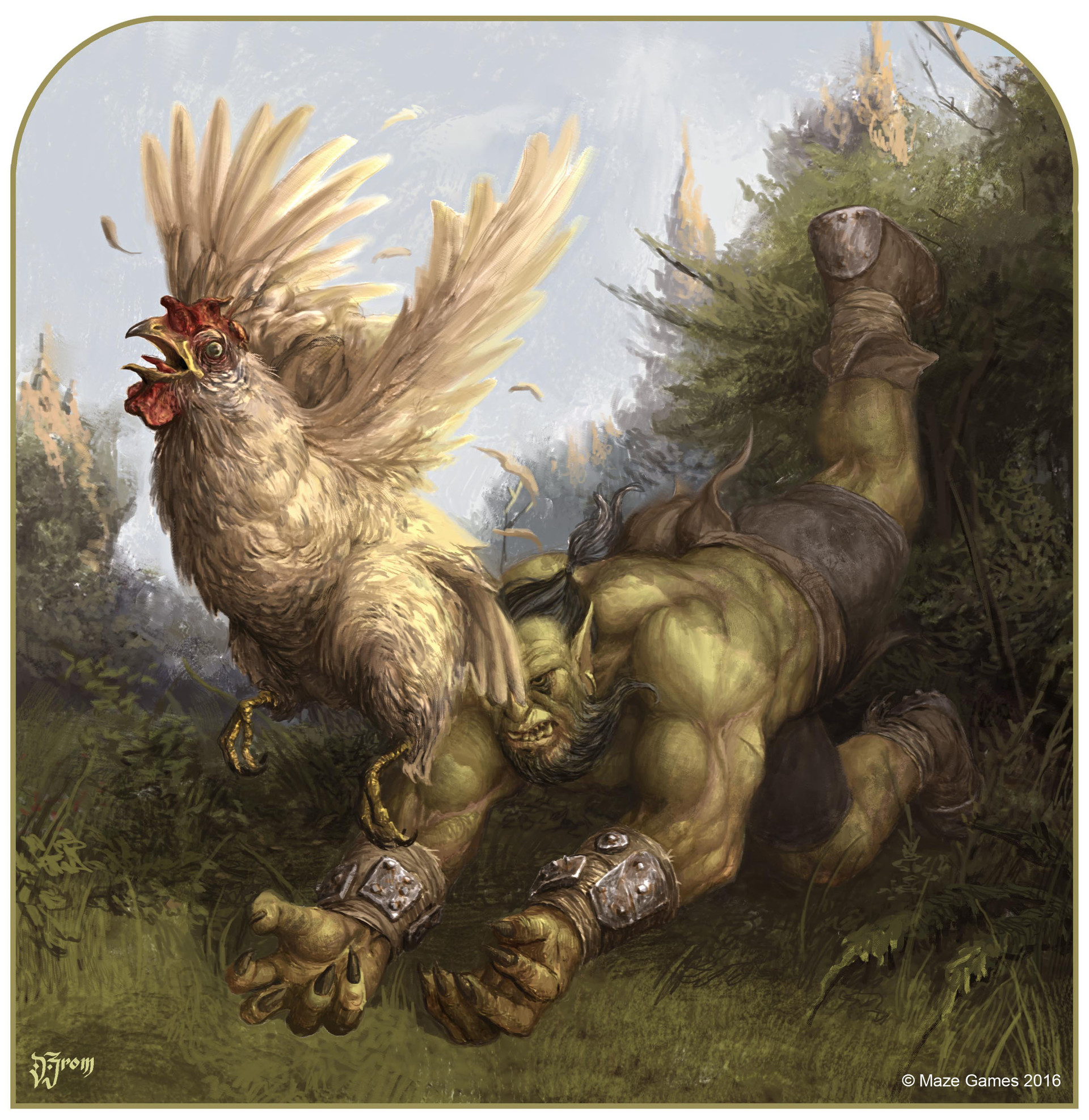 Daniel zrom danielzrom chickenscene