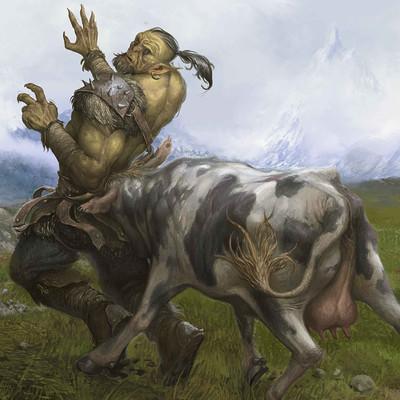 Daniel zrom danielzrom cowscene