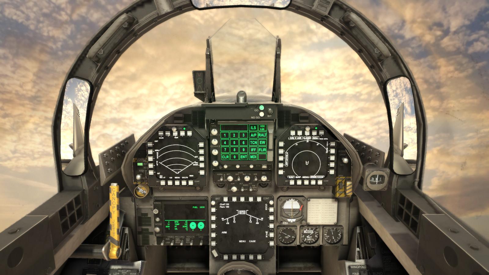 F18F Cockpit