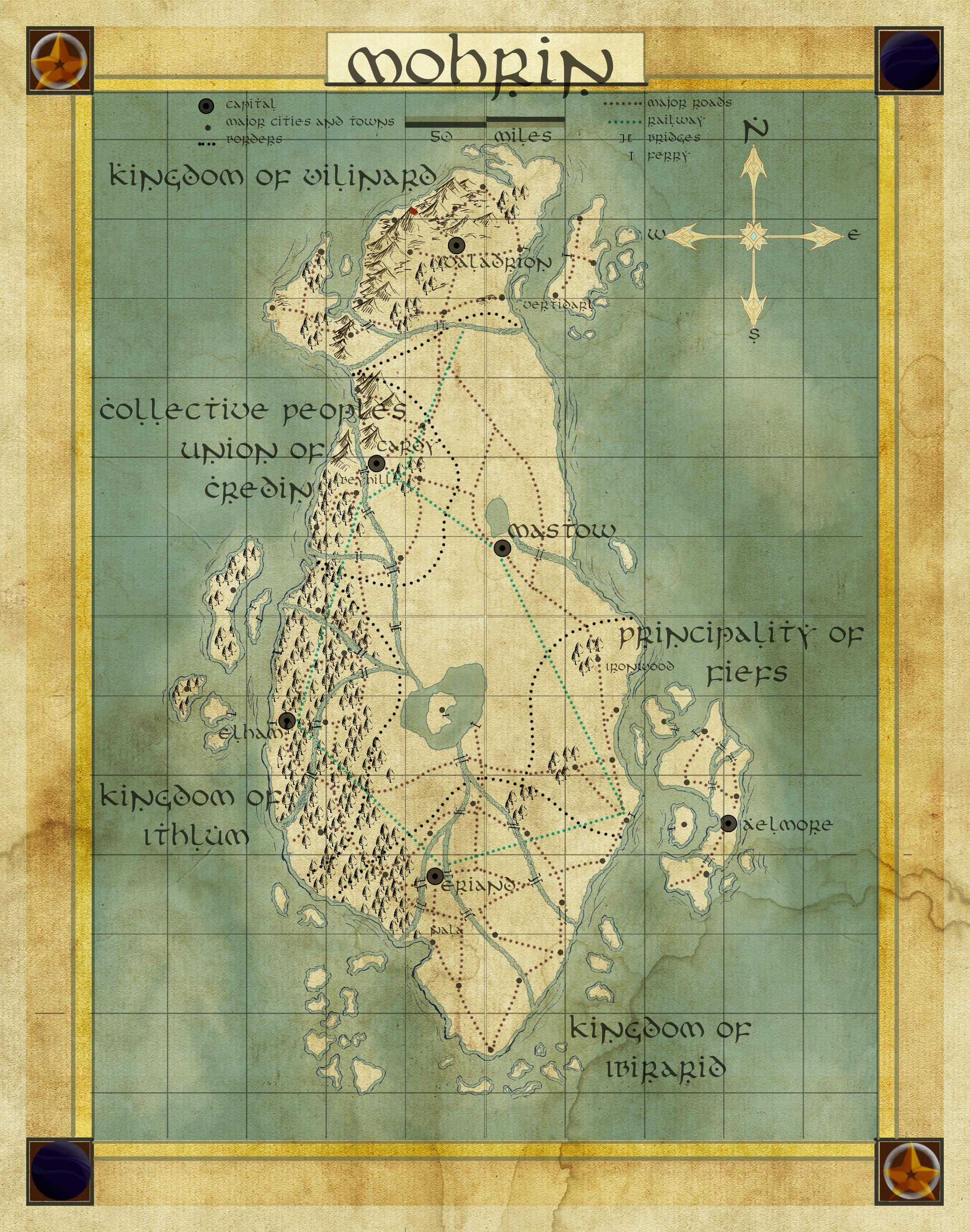 Final map of Mohrin