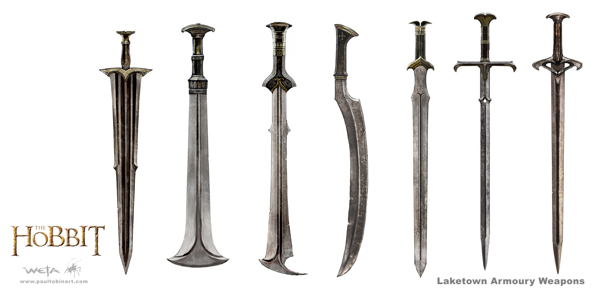 Paul tobin hobbit laketown weapons tobin