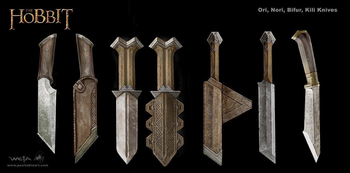 Hero Dwarven Knives