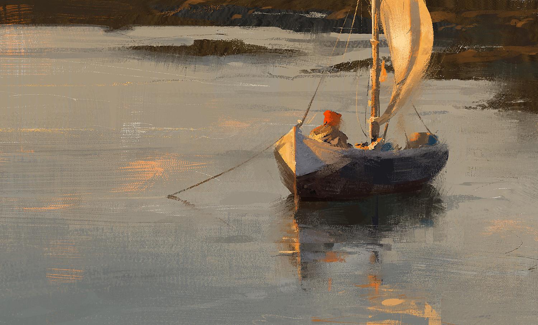 Grzegorz rutkowski boat study 1500