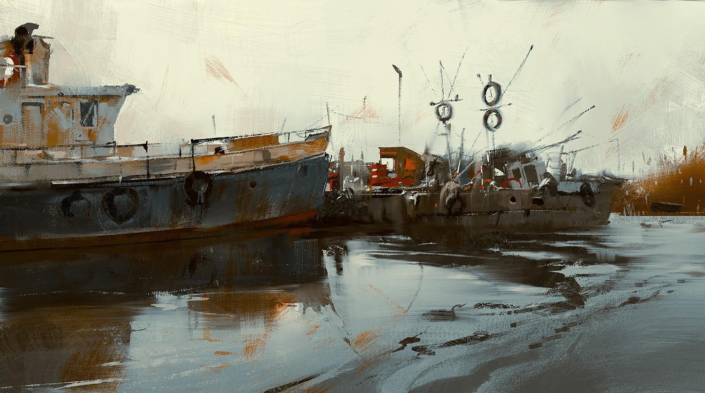 Grzegorz rutkowski boats study 1500