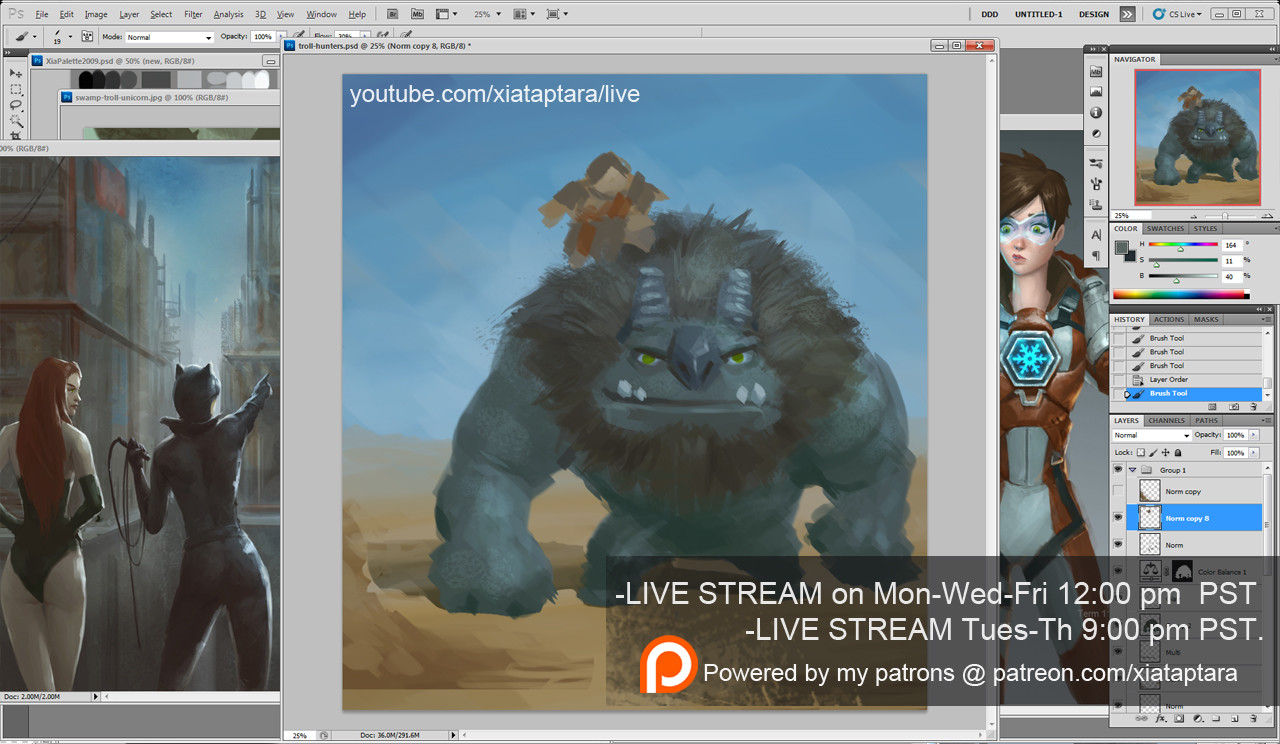 ArtStation - LIVE Stream: Jan 9th to 13th 2017 from Youtube
