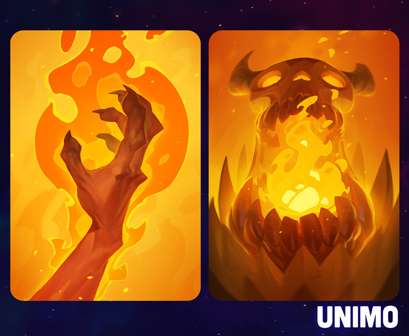 Max grecke unimo fireactioncards
