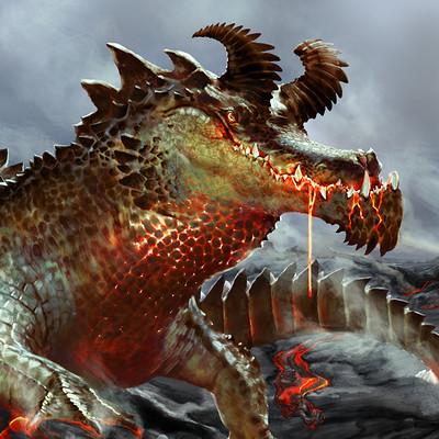 Matt demino croc dragon web