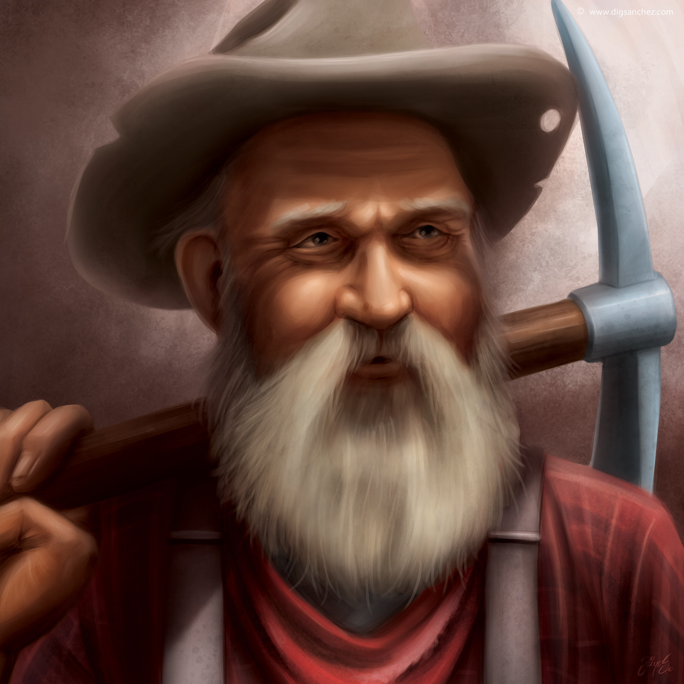 Game character - Miner