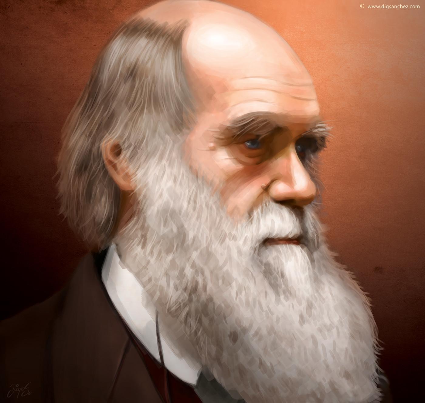 Card character - Charles Darwin