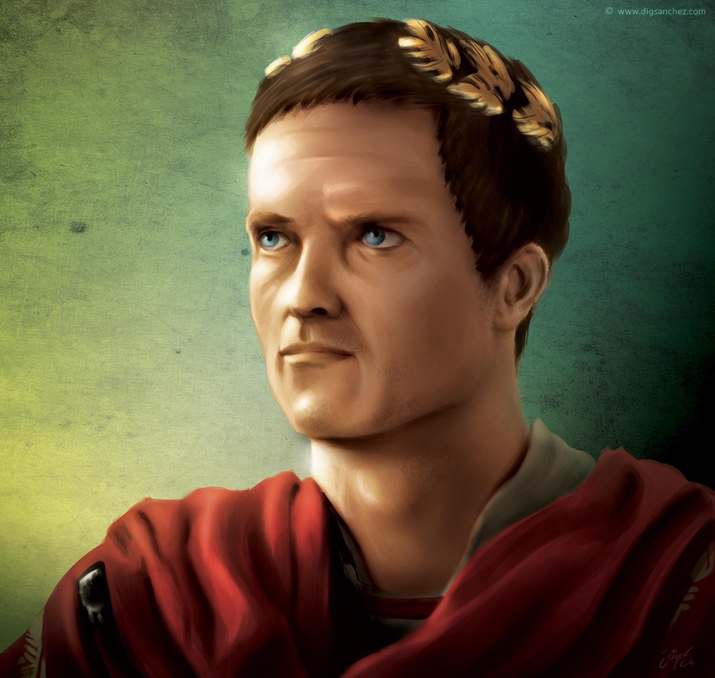 Card character - Julius Caesar