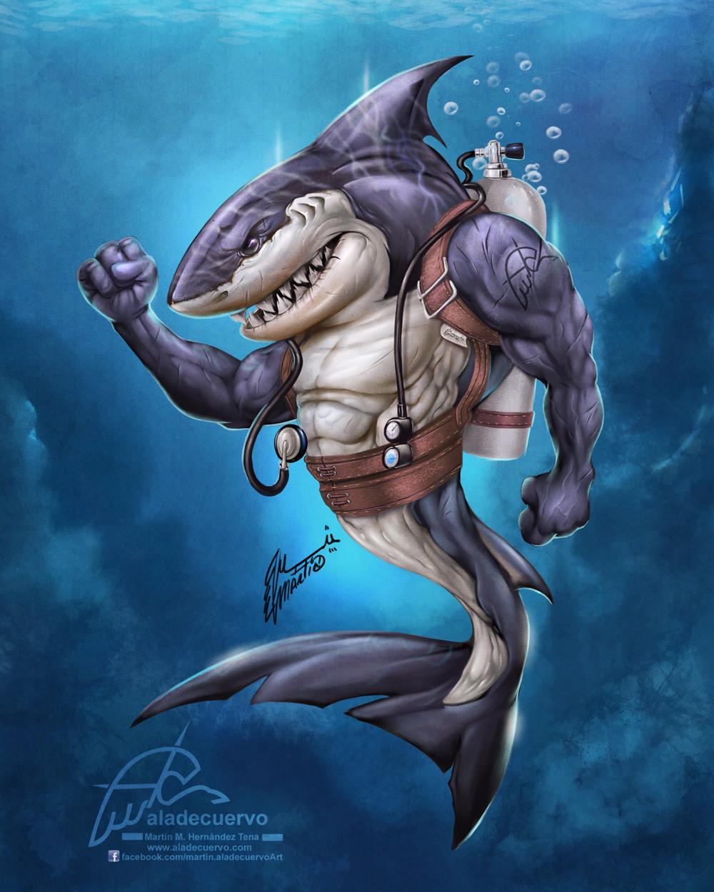 крутые картинки акул качков где