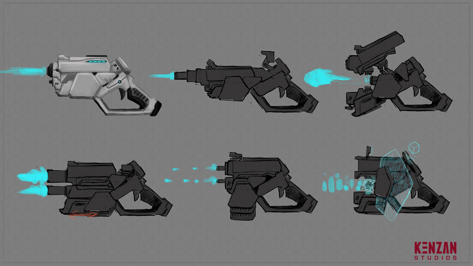 Morpher Gun final research