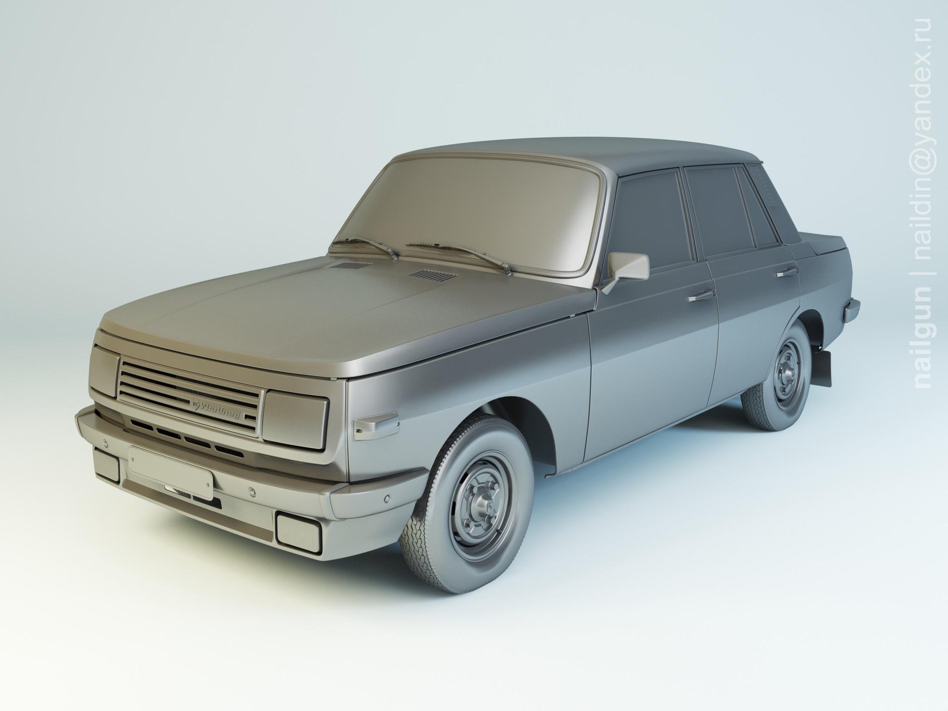 Nail khusnutdinov als 156 002 wartburg 353w modelling 0