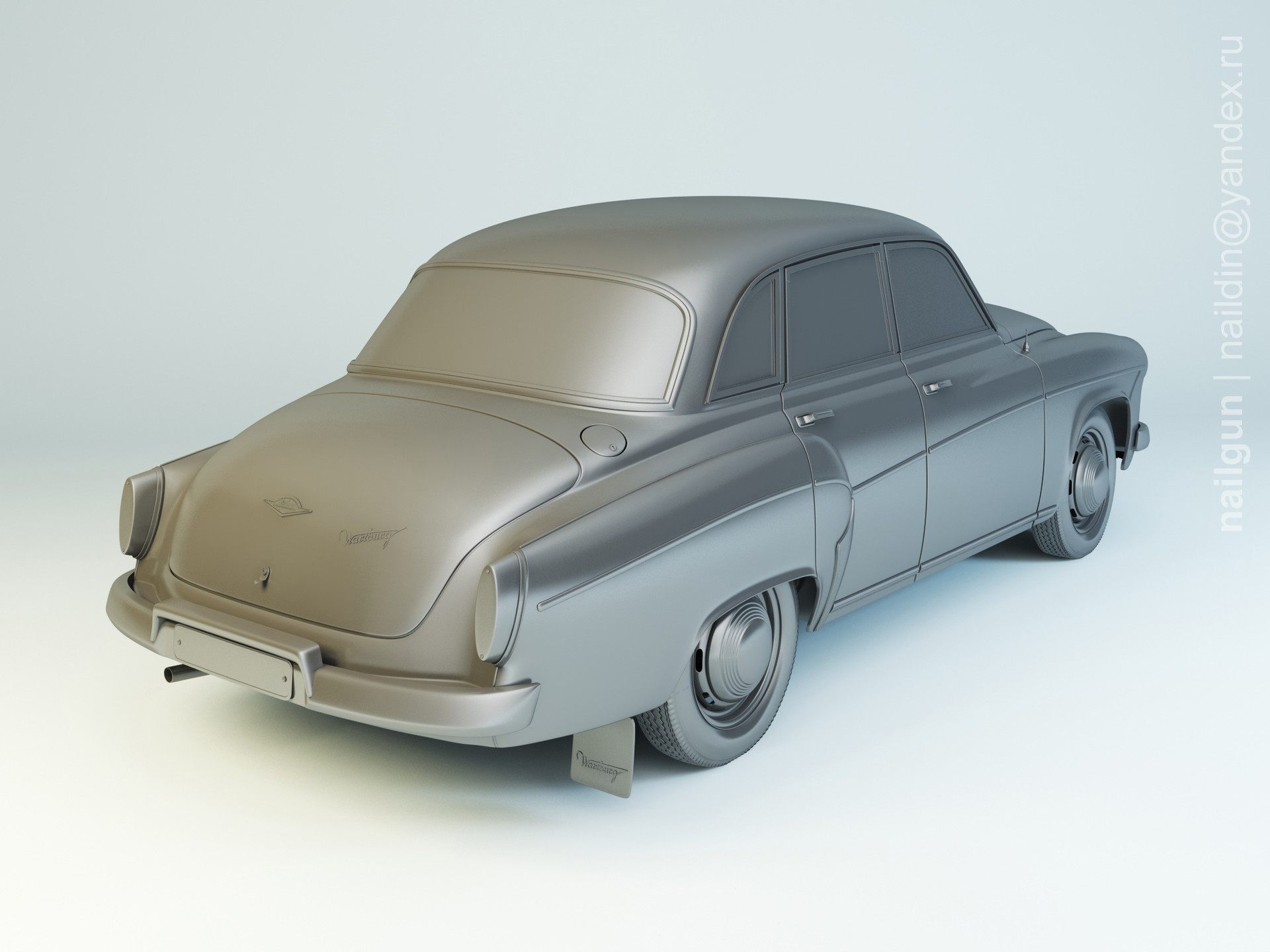 Nail khusnutdinov als 172 004 wartburg 312 modelling 1