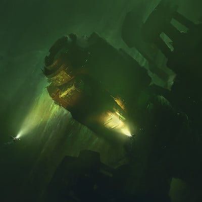 Finnian macmanus lost in the depths