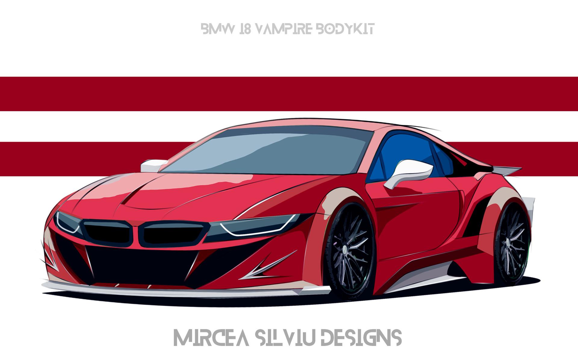 Artstation Bmw I8 Vampire Bodykit Mircea Silviu