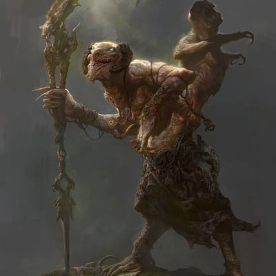 Fenghua zhong old monkey