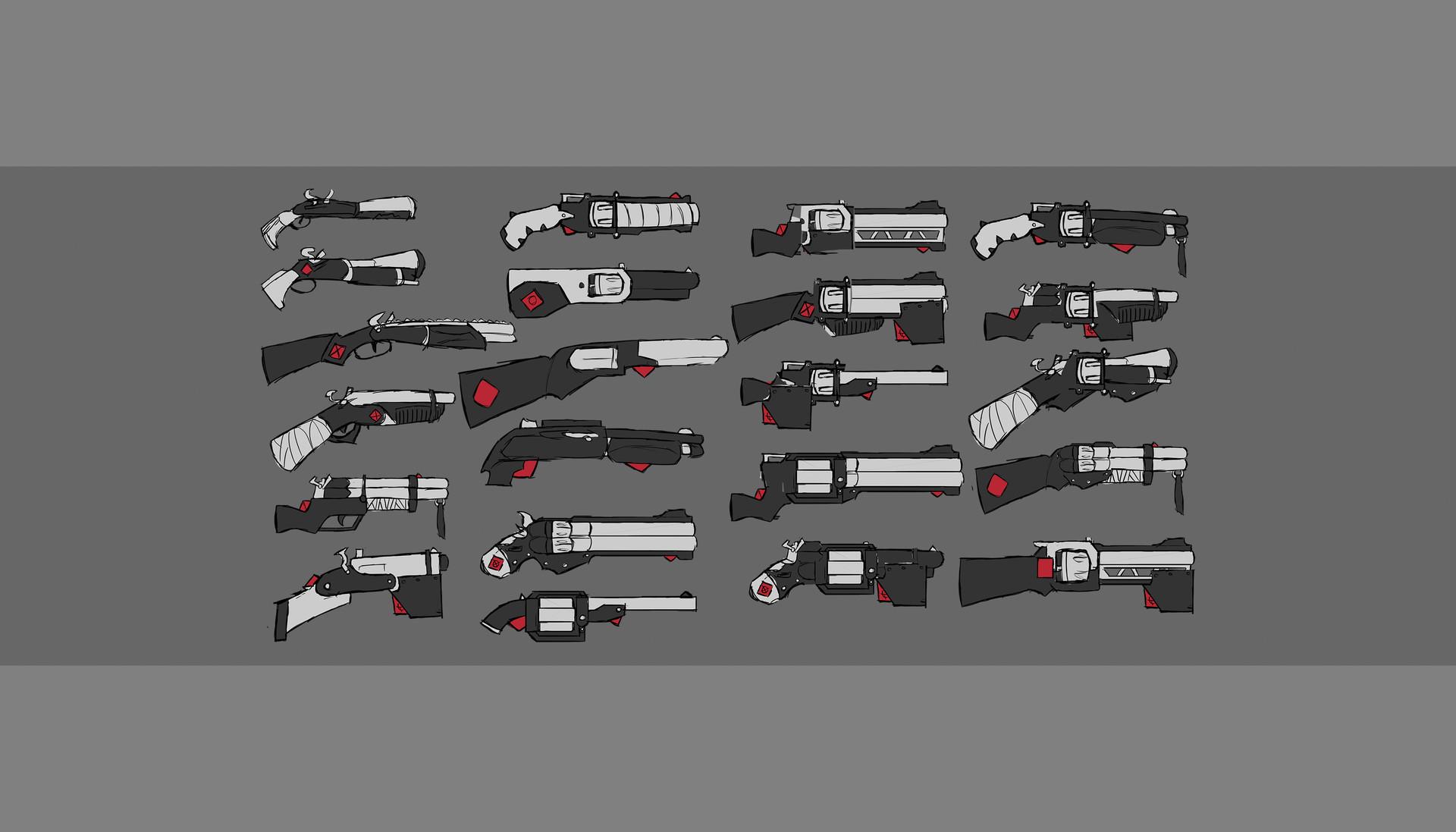 Hannah pallister 20170106 guns set 1