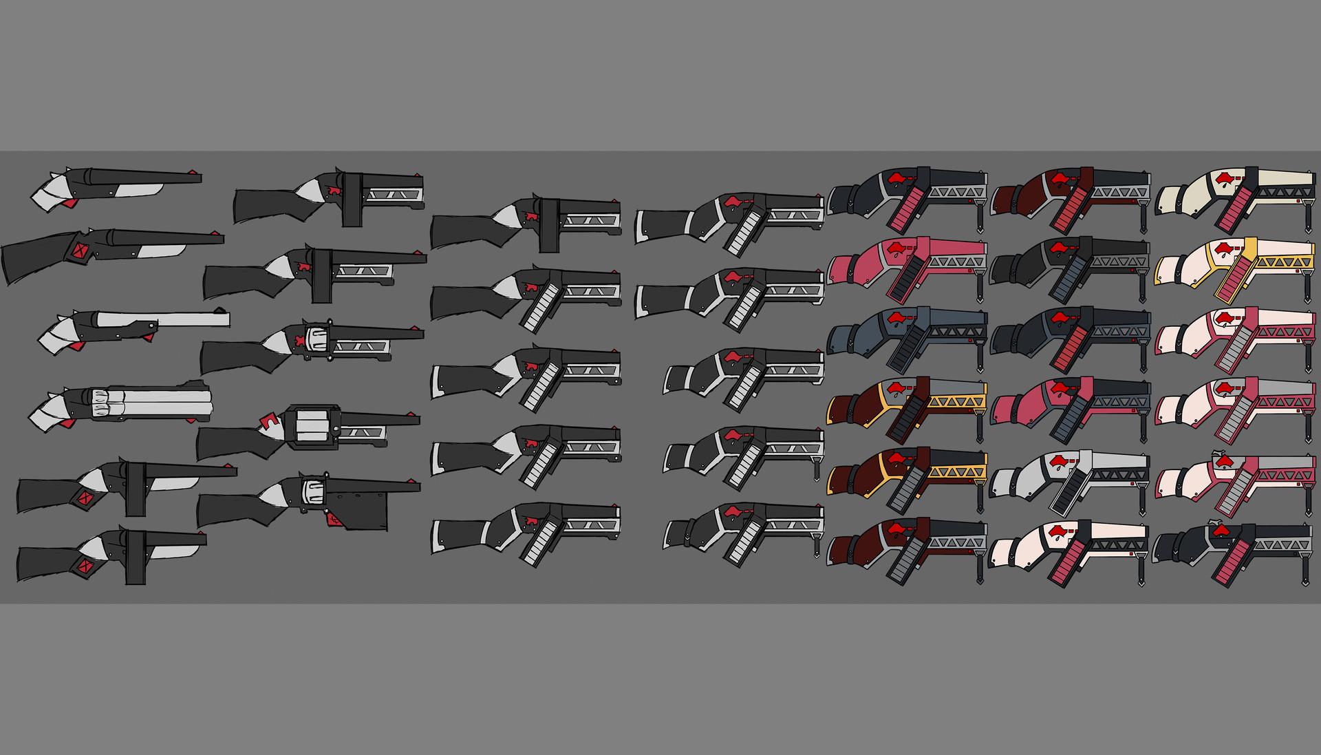 Hannah pallister 20170106 guns set 2