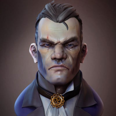Martin jario martin jario dishonored martinjario zbrush final render 3