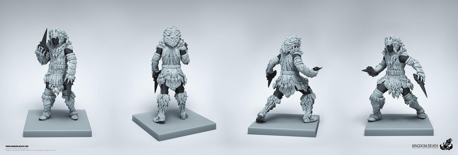Male Lion Armor