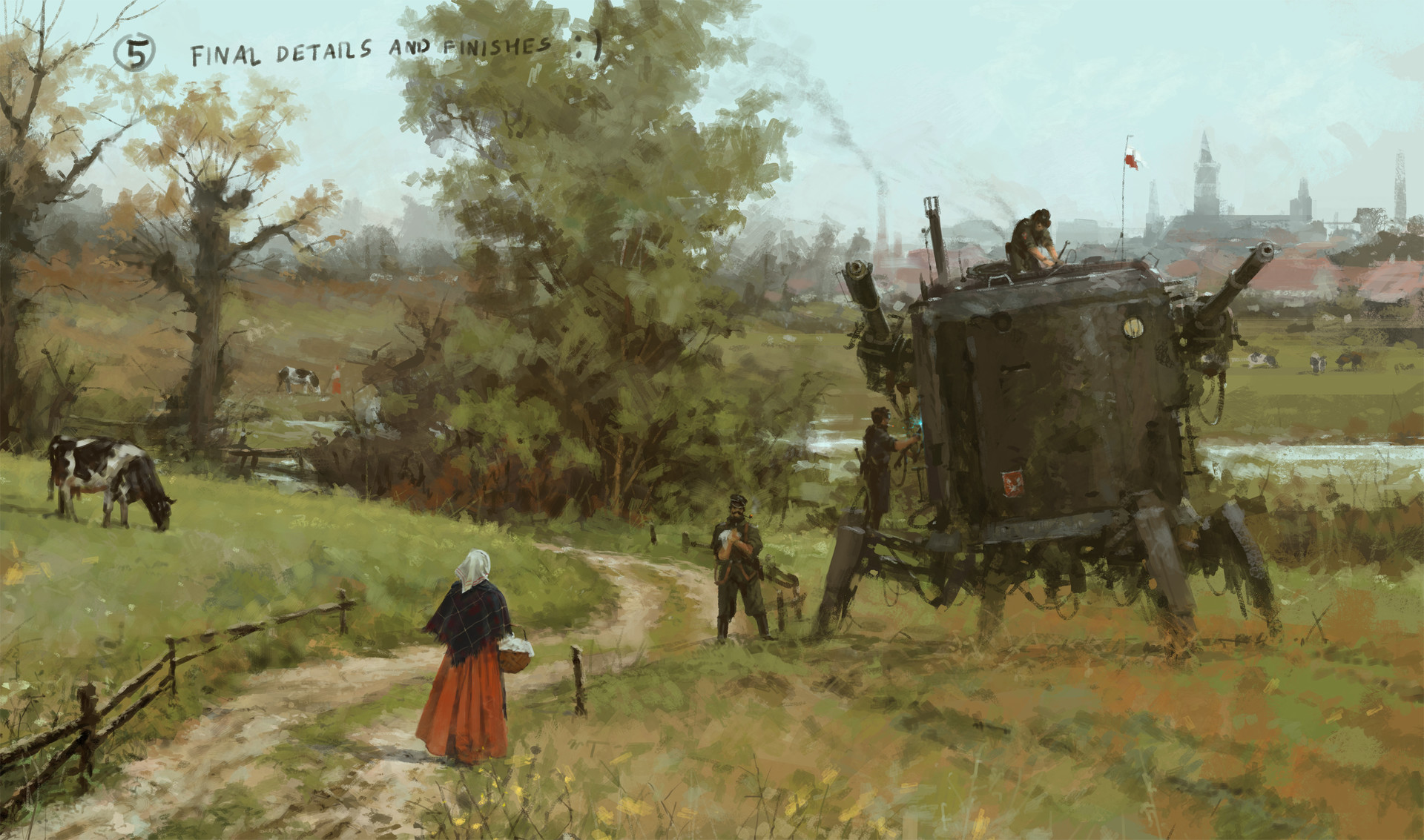 Jakub rozalski breakfast is coming ih 16012016 processr7