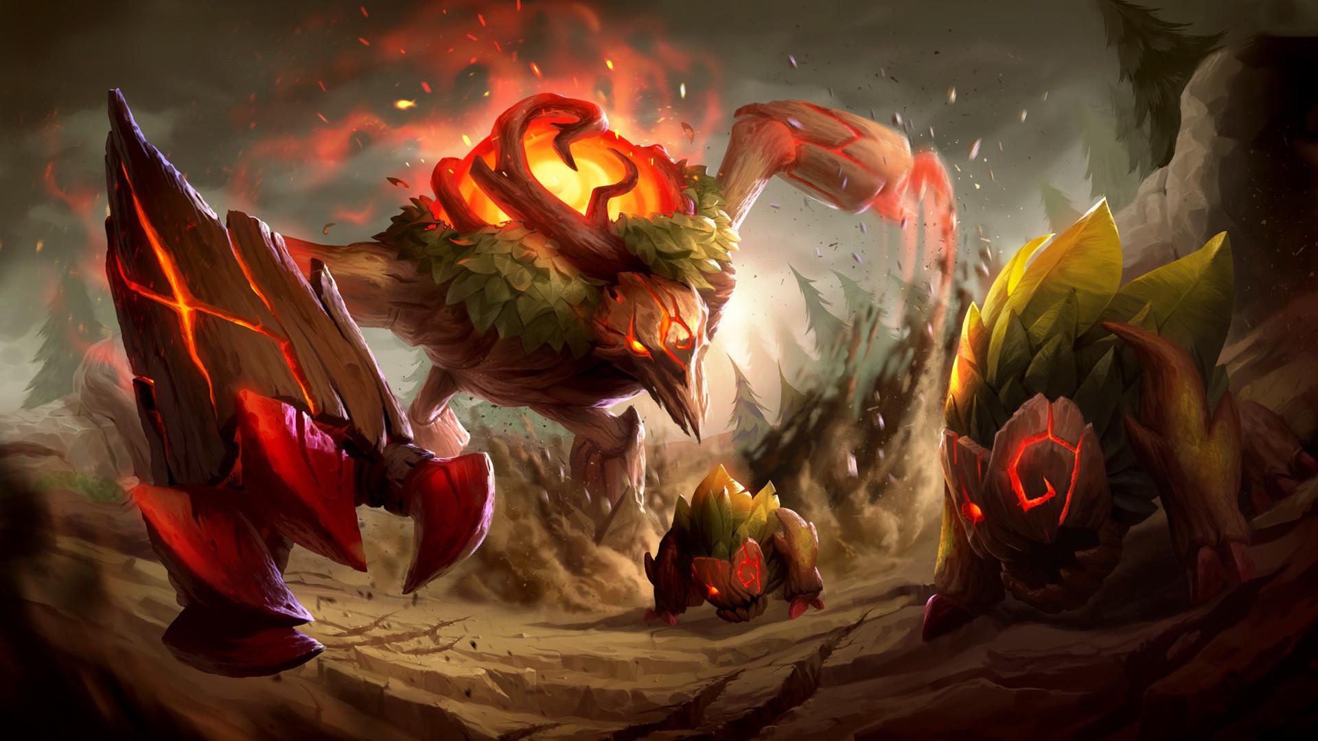 Giselle Almeida League Of Legends Red Brambleback By Gisalmeida D9ijx4h