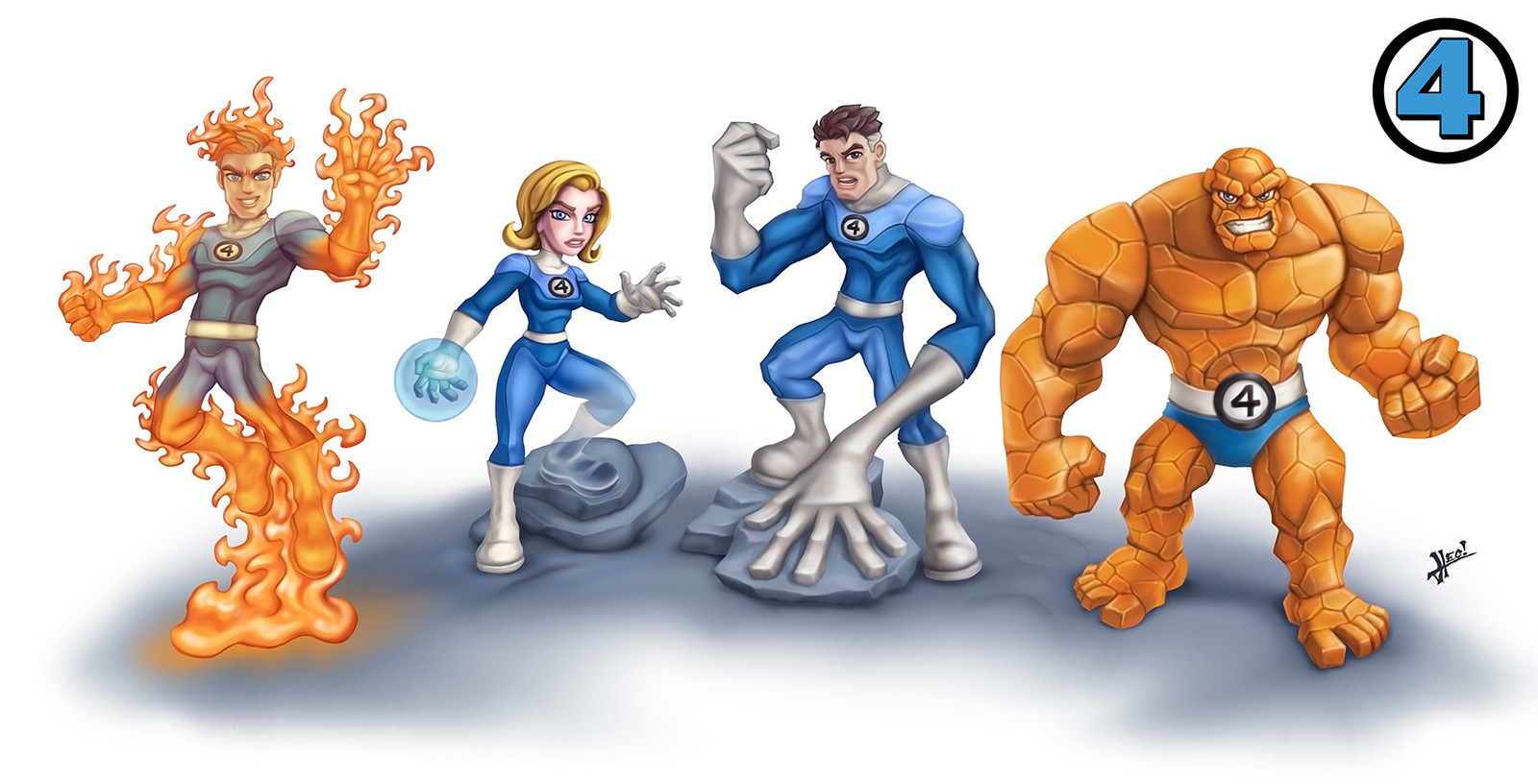 Fantastic Four Infinity