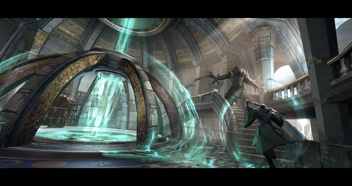 Artstation Warcraft 2016 Chamber 02 Jon Mccoy