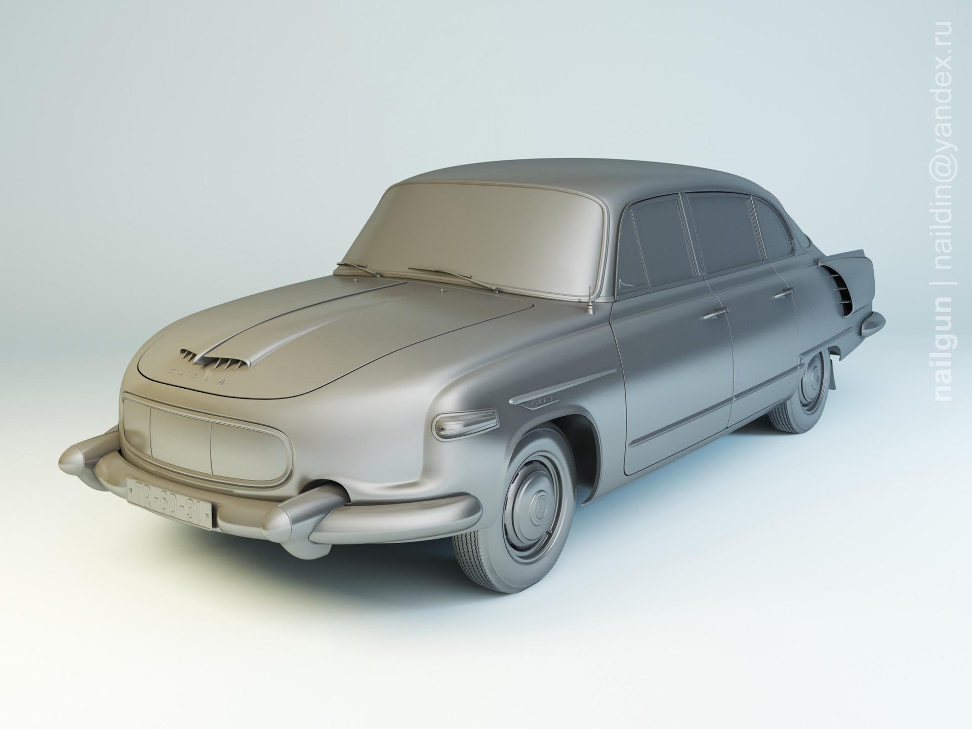 Nail khusnutdinov als 155 002 tatra 603 1 modelling 0
