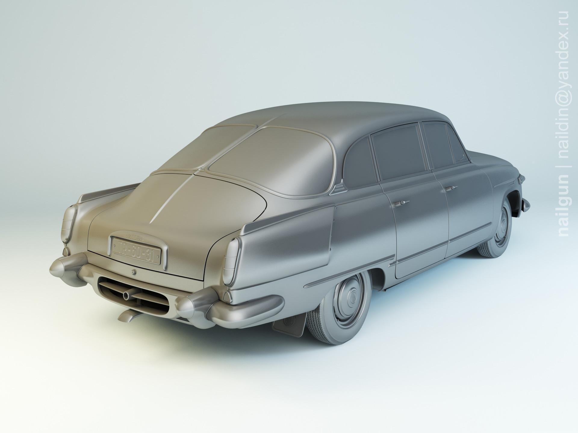 Nail khusnutdinov als 155 003 tatra 603 1 modelling 1